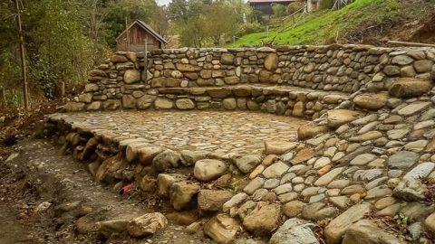Škarpa iz kamna za moderne gradbene adaptacije Gavis plus